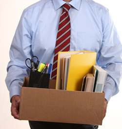 By law does an employer have to provide termination paperwork